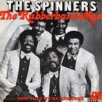 The Spinners - The Rubberband Man record cover