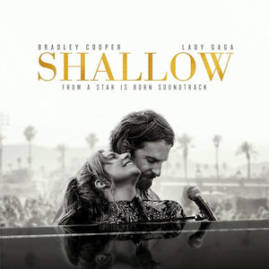 SHALLOW - Lady Gaga & Bradley Cooper record cover