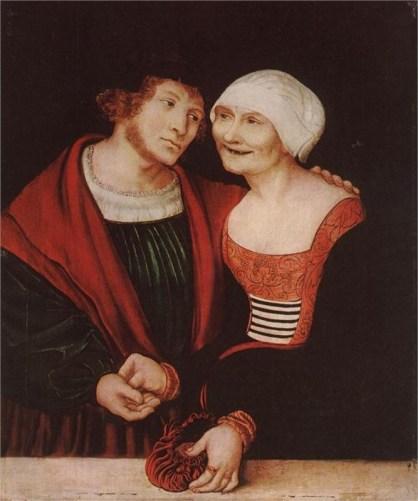#1 Lucas Cranach Strange Couples!