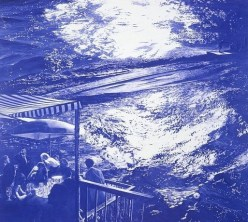#4 Mark Tansey Blue Masterpiece!