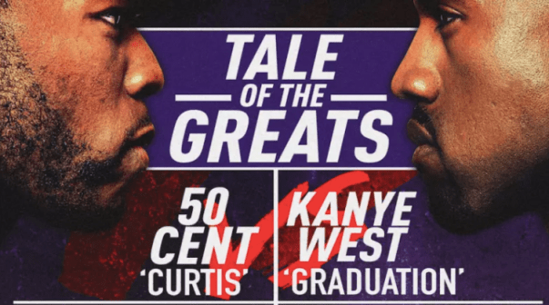 50 cent vs Kanye West top5rapwebsite.com