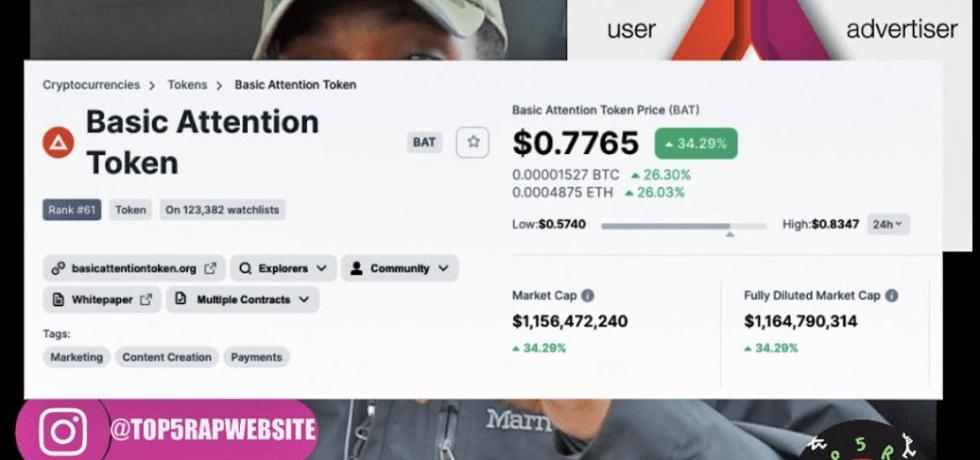 $BAT BASIC ATTENTION TOKEN REWARDS creators