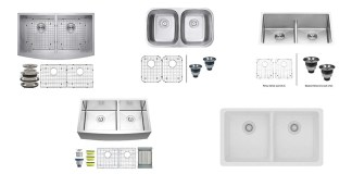 Best Undermount Double Kitchen Sink