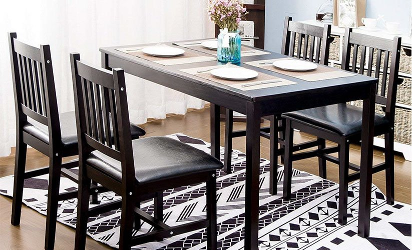 4bb206bb398d3 Top 10 Best 4 Person Dining Table Set in 2019 - Top6Pro