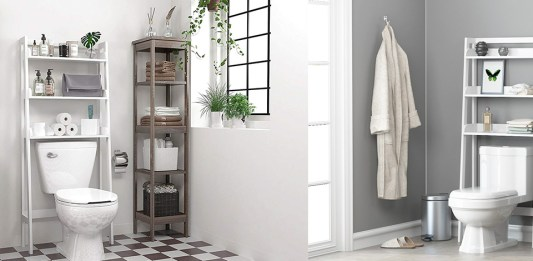 Best Over The Toilet Storage Units