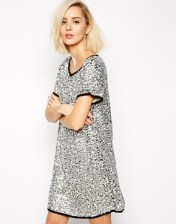 GOLDIE SEQUIN DRESS