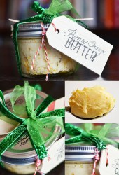 gift honey orange butter