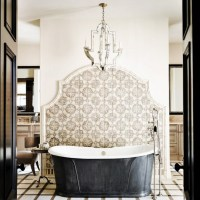 Make a statement in your bathroom