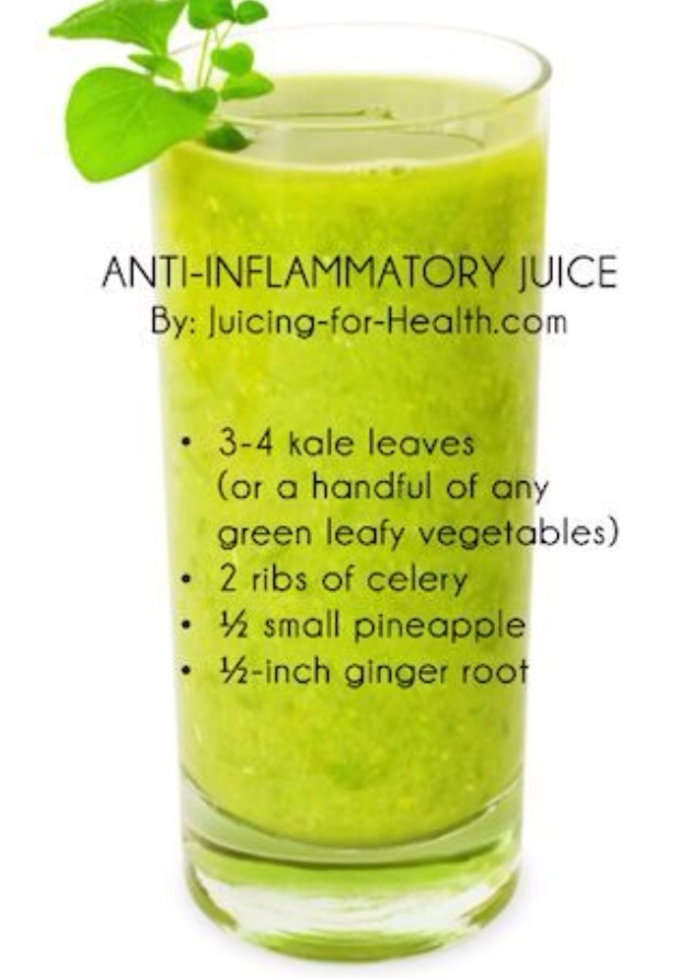 Daily green juice