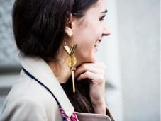 one earring