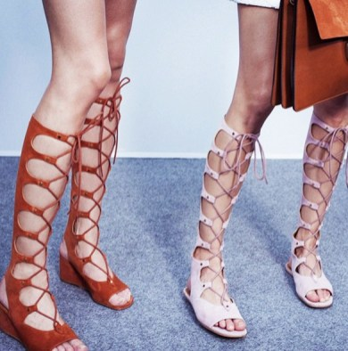 lace up gladiators