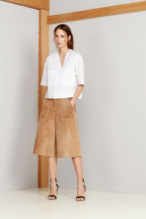 theory suede culotte