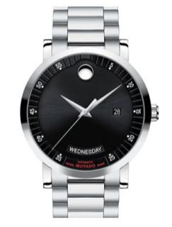 movado read label automatic bracelet watch 2,495$