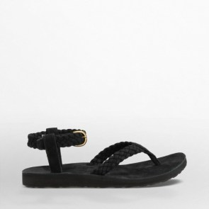 teva origina suede braid sandals 70$
