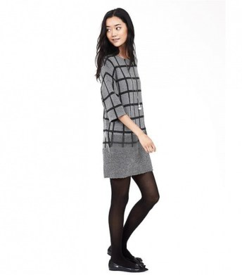 banana republic plaid sweater dress
