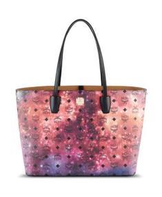 mcm print handbag
