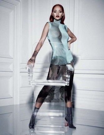 rihanna for diormag
