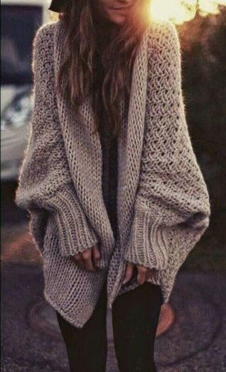 street-style-oversized-knit-cardigan