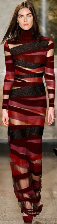 emilio pucci fall 2015 gown