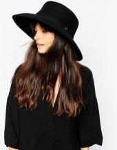 whistles flat top wide brim hat at asos
