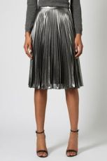 pletated skirt topshop