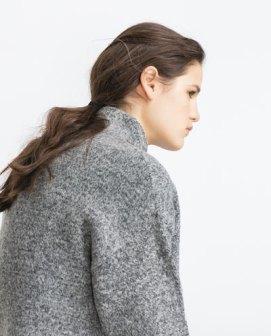 zara sweater zapone