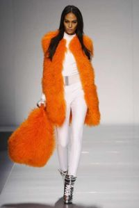 blumarine spring 2016 orange