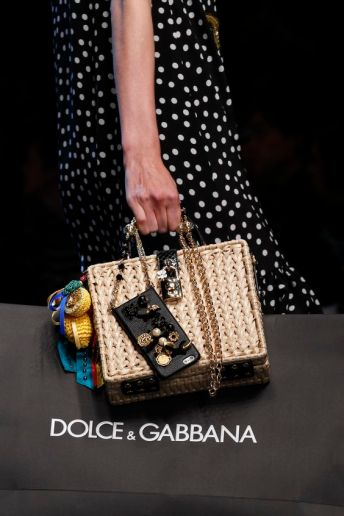 dolce gabbana statement bag