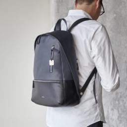 skagen kroeyer leather backpack