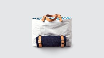 armathea beach bag upcycled polyester sailcloth