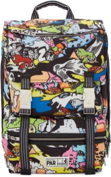 multicolor crazy kenzo backpack
