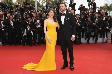 anna kendrick in stella mccartney and justin timberlake