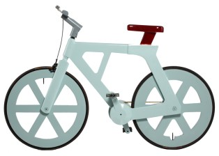 cardboard bicycle by izhar