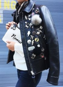 patches on leather jackets