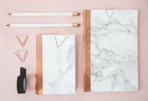 marble-copper-stationery