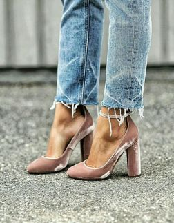 jeans with the perfect heels