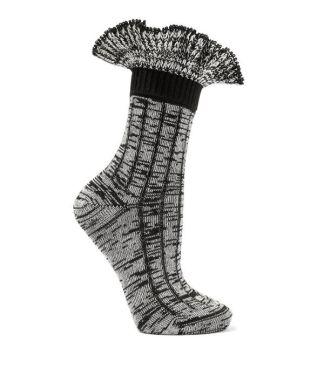 alexander mcqueen ruffled socks