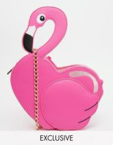 asos flamingo bag cross body