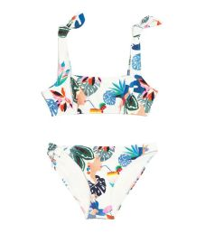 &other stories knot shoulder bikini bra
