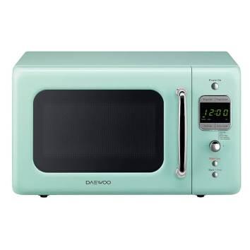 Daewoo-Retro-Microwave