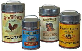 Vintage-Tin-Cannisters