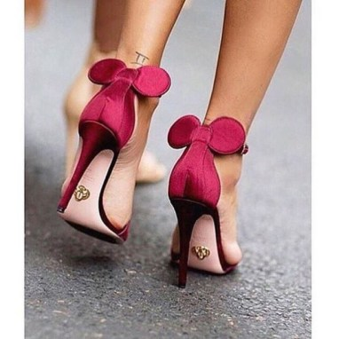 minnie mouse heels