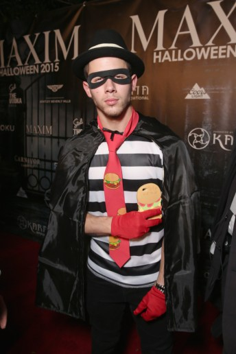 LOS ANGELES, CA - OCTOBER 24: Recording artist Nick Jonas attends the Maxim Halloween Party Presented By Karma International on October 24, 2015 in Los Angeles, California. (Photo by Todd Williamson/Getty Images for Karma International)