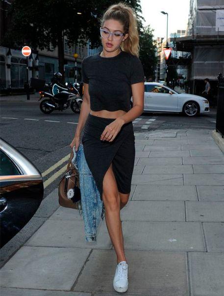 drape skirt casual