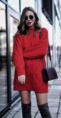 lomg sweater winter
