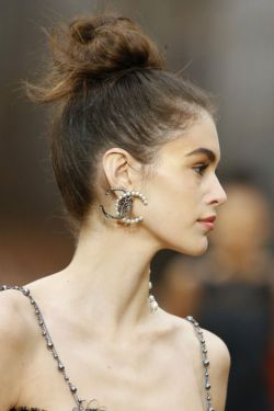 chanel updo