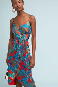 nicole miller wrap dress