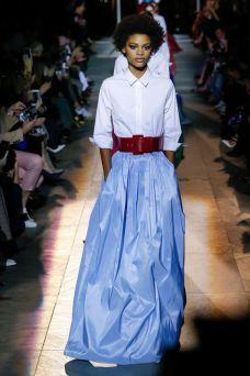 carolina herrera maxi skirt