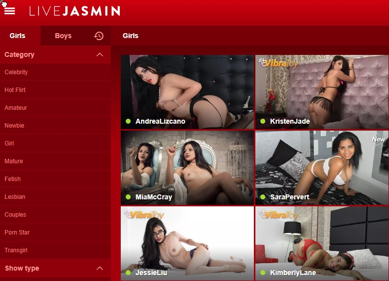 sites similar to LiveJasmin