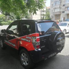 productie publicitara valcea top advertising hakushin kai autocolant masina
